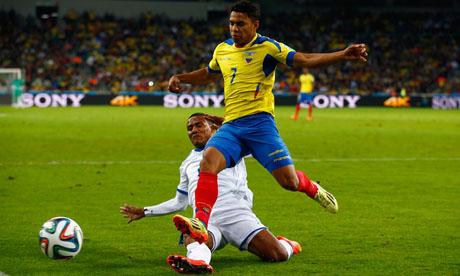 WM 2014 : Honduras Ecuador