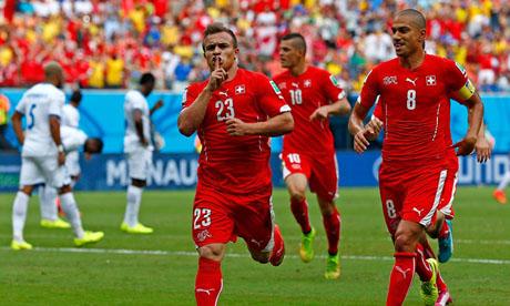 WM 2014 : Honduras Schweiz