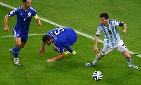 WM 2014 : Argentinien Bosnien und Herzegowina