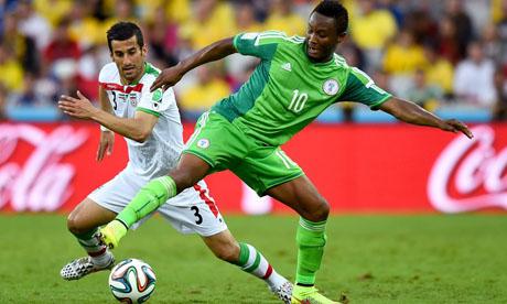 WM 2014 : Iran Nigeria