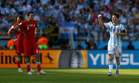 FIFA World Cup 2014 : Argentina Iran