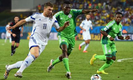 FIFA World Cup 2014 : Nigeria Bosnia and Herzegovina