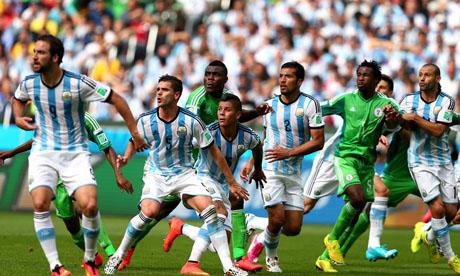 WM 2014 : Nigeria Argentinien