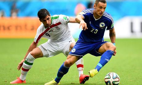Coupe du monde 2014 : Bosnie-Herzégovine Iran