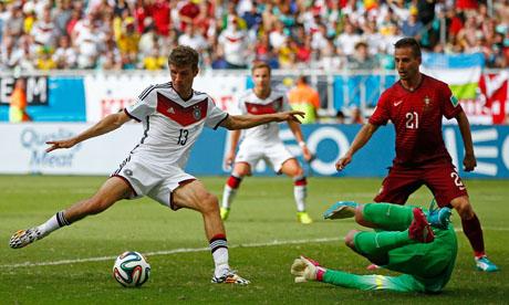 世界杯:德国VS葡萄牙