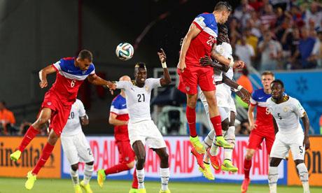 WM 2014 : Ghana Vereinigte Staaten