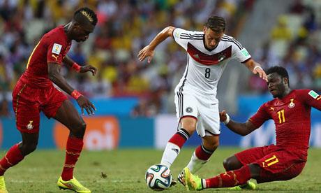 Copa Mundial de Fútbol 2014 : Alemania Ghana