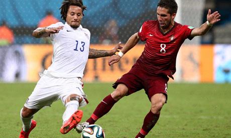 世界杯:美国VS葡萄牙