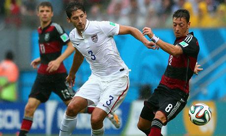 Copa Mundial de Fútbol 2014 : Estados Unidos Alemania