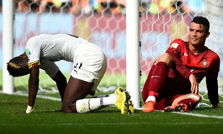 WM 2014 : Portugal - Ghana