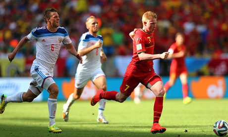 FIFA World Cup 2014 : Belgium Russia