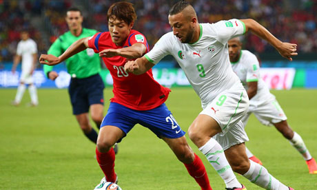 Copa Mundial de Fútbol 2014 : Corea del Sur Argelia