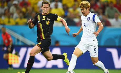 FIFA World Cup 2014 : South Korea Belgium