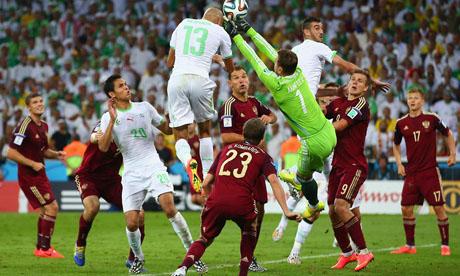 WM 2014 : Algerien Russland