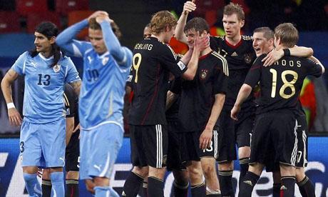 世界杯:乌拉圭VS德国