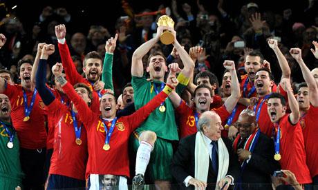 世界杯:荷兰VS西班牙