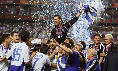 Eurocopa 2004 : Portugal - Grecia