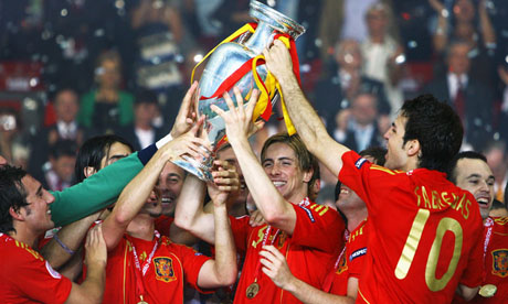Europei di calcio 2008 : Germania - Spagna