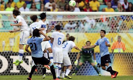 联合会杯:乌拉圭VS意大利