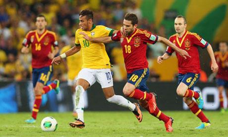 Copa Confederaciones 2013 : Brasil - España