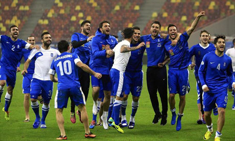 WM 2014 : Rumänien - Griechenland