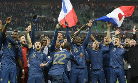 FIFA World Cup 2014 : France Ukraine