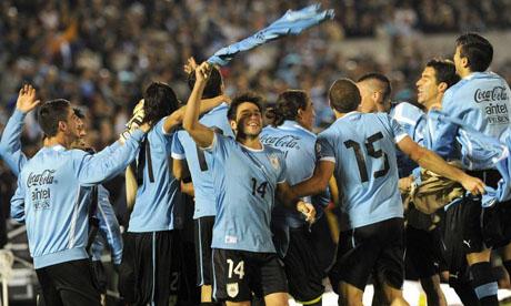Copa do Mundo 2014 : Uruguai - Jordânia