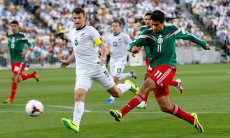 FIFA World Cup 2014 : New Zealand Mexico