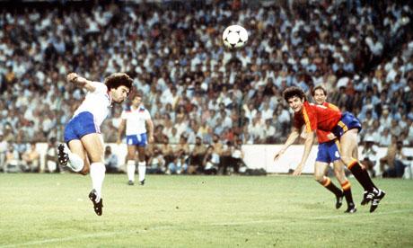 Espagne 0 0 angleterre 5 juillet 1982 mondial 1982 football - Coupe du monde de football 1982 ...
