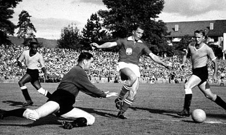 WM 1954 : Österreich - Uruguay