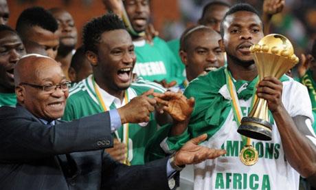 Copa Africana de Naciones 2013 : Nigeria Burkina Faso