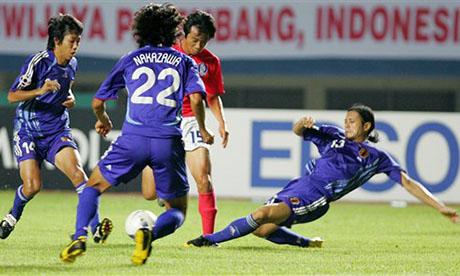 Copa Asiática 2007 : Corea del Sur - Japón