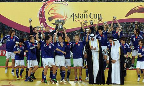 Copa Asiática 2011 : Australia - Japón