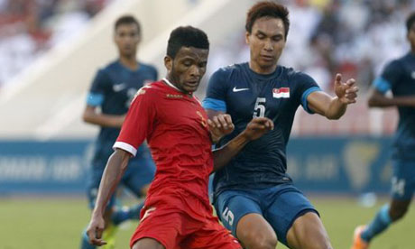 Asien-Cup 2015 : Oman - Singapur
