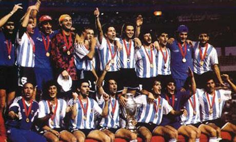Coppa America 1993 : Argentina - Messico