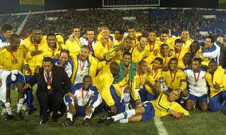 Coppa America 1999 : Brasile - Uruguay