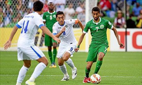 Asien-Cup 2015 : Usbekistan - Saudi-Arabien