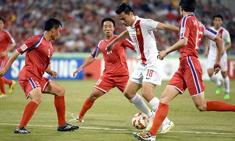 Coupe d'Asie des nations 2015 : Chine Corée du Nord
