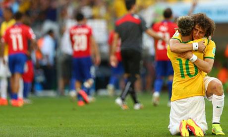WM 2014 : Brasilien Chile