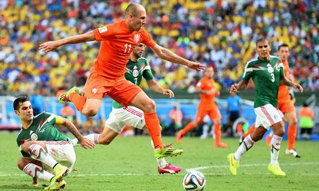 WM 2014 : Niederlande Mexiko