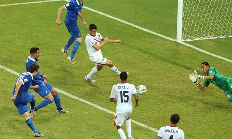 WM 2014 : Costa Rica Griechenland