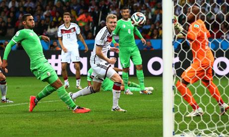 WM 2014 : Deutschland Algerien
