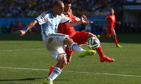 WM 2014 : Argentinien Schweiz
