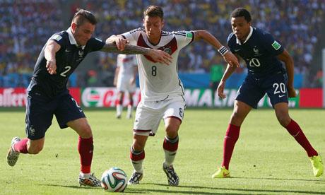 WM 2014 : Frankreich Deutschland