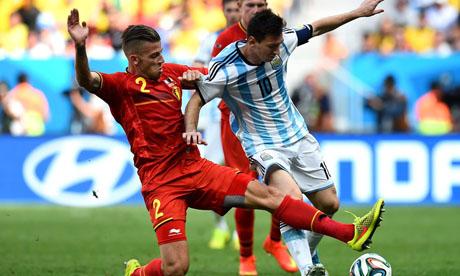 WM 2014 : Argentinien Belgien
