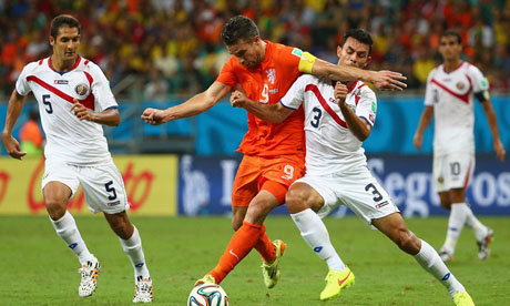 WM 2014 : Niederlande Costa Rica