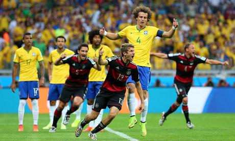 Coupe du monde 2014 : Brésil Allemagne