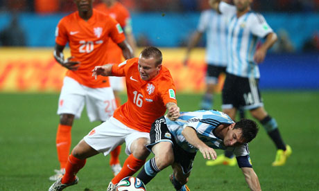 WM 2014 : Niederlande Argentinien