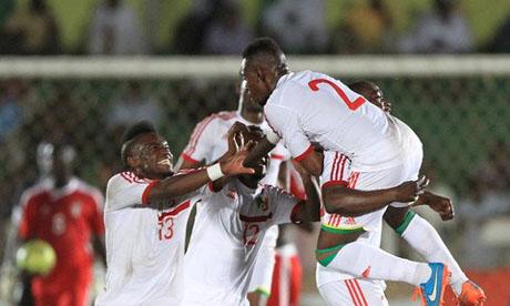 Soudan 0 1 congo brazzaville 19 novembre 2014 - Coupe afrique des nations 2015 groupe ...