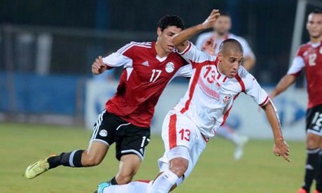 Tunisie 2 1 gypte 19 novembre 2014 qualifications can - Coupe afrique des nations 2015 groupe ...